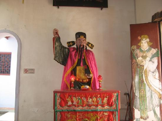 Johor Old Chinese Temple: Statue