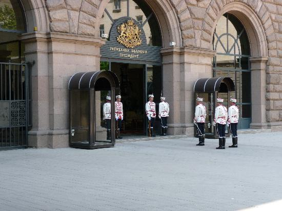 Budapest Hotel: Changing Guards at President Palace