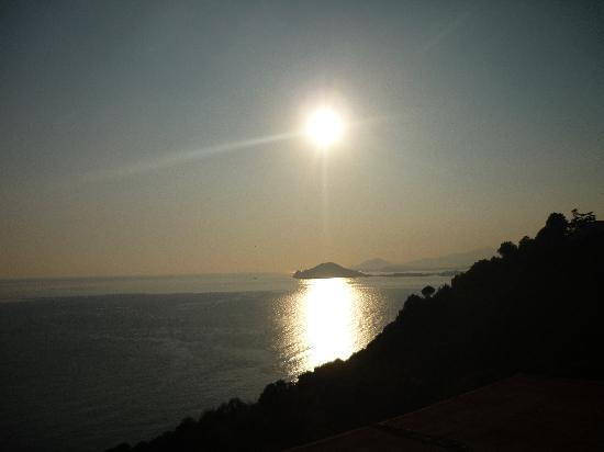 Mini Hotel: Vista tramonto dal terrazzo