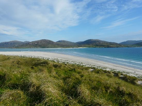 Luskentyre : Towards Seilebost from the dunes