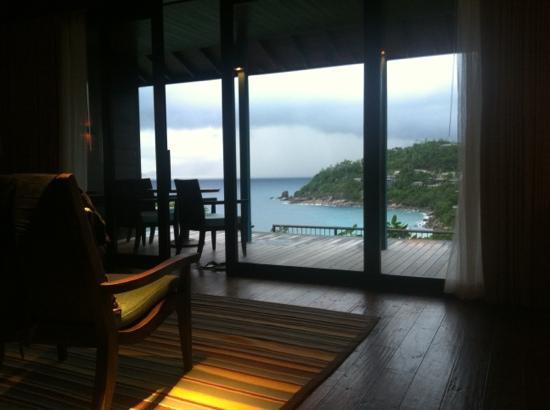 Four Seasons Resort Seychelles: View from hilltop villa #505
