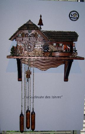 German Clock Museum: Orologio a pendolo