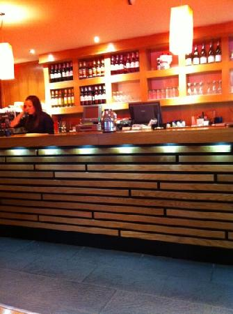 Zen Noodle Bar: the bar
