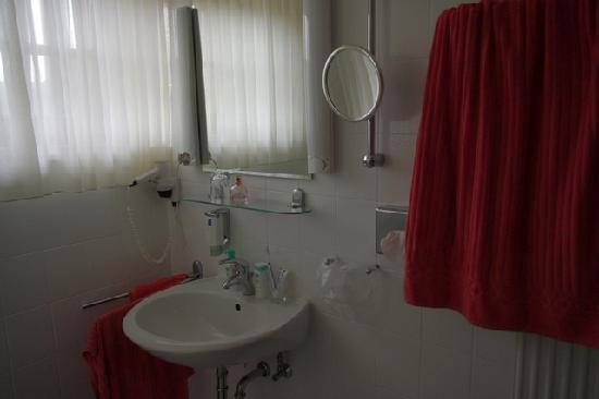 Gasthof zum Storch: a bathroom