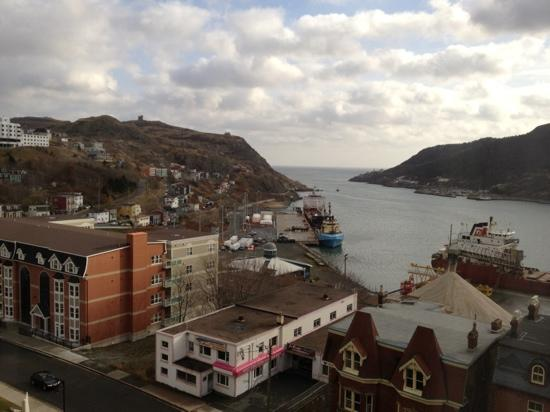 Sheraton Hotel Newfoundland: the view on a clear day