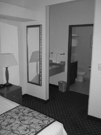 Fairfield Inn & Suites Lafayette South: Looking towards Bathroom