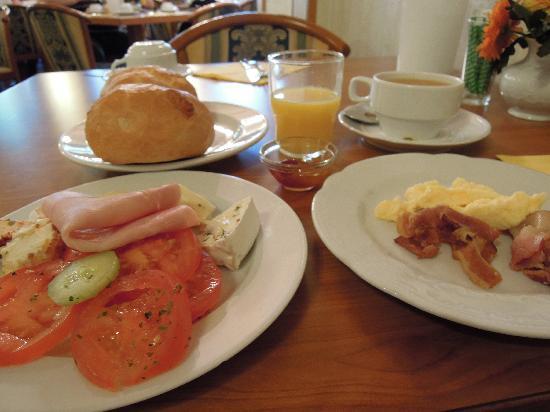 Hotel Koenigshof: 朝食