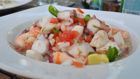 BeTulum Restaurant and Lounge : Ceviche