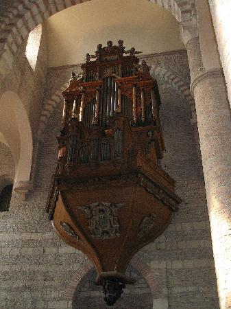 Abbaye Saint-Philibert : l'organo
