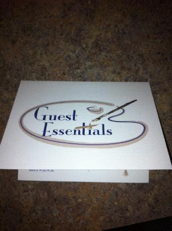 Hotel At WaterWalk: Photo of card
