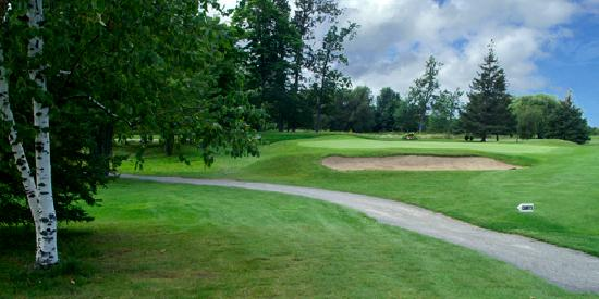 Colonnade Golf and Country Club: #2 green