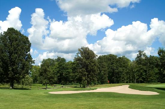 Colonnade Golf and Country Club: #4 tee and sandtrap