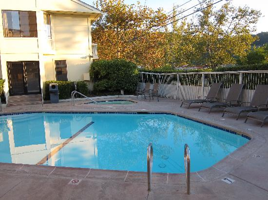 Comfort Inn Calistoga, Hot Springs of the West: Pool area