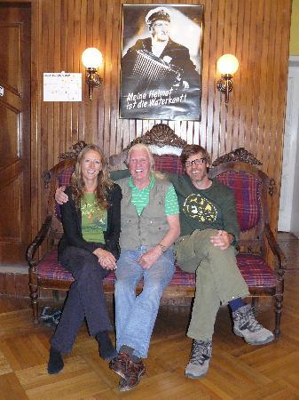 Hostal Zentrum: Jenny, Gerd, Jean-Claude