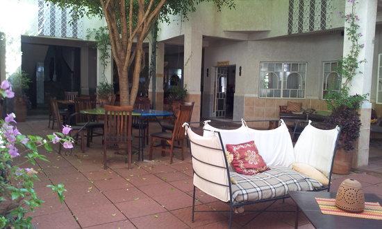 Madidi Lodge : The Courtyard