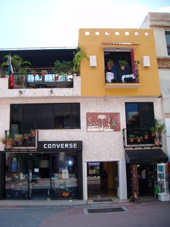 Hotel Pension San Juan: Pension San Juan on the 5th Ave Playa del Carmen