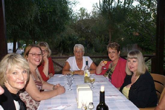 ByDostlar: Blackburn People's Choir enjoy a meal.