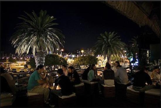 Moby Dick Pub: Punta del este night life terrace