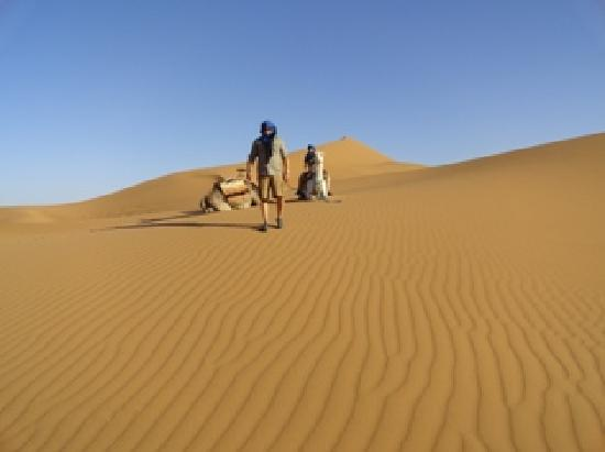 Nice Pic of  us at the Tinfou Dunes by our Guide Mohammed