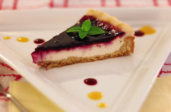 Loving Hut : Vegan cheesecake