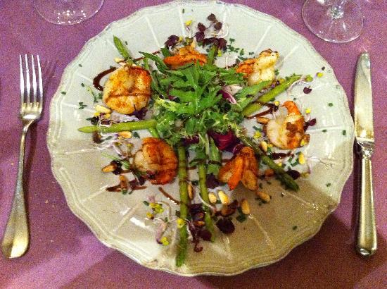La Clef des Champs : A tasty salad!