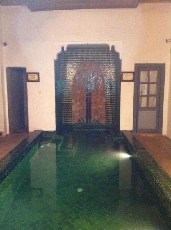 Les Jardins de Mouassine : piscine chauffée