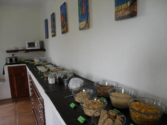 Ekala Guest Farm and Eco Tours: Breakfast