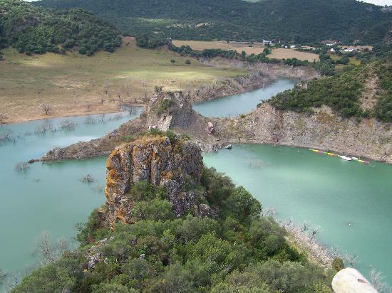 Complejo Turistico Tajo del Aguila: the resevoir