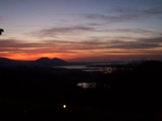 Complejo Turistico Tajo del Aguila: sunset