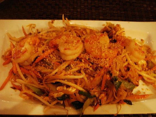 Pataya Restaurant: Pad thai prawn
