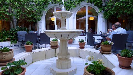 Alboran Algeciras: Terrace