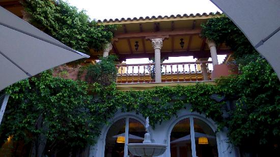 هوتل ألبوران ألخثيراس: View from terrace
