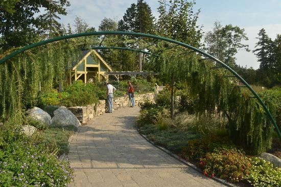 Botanical Garden Boothbay Maine Fasci Garden