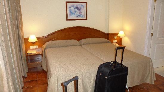 Spring Hotel Bitacora: Bed
