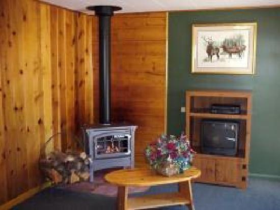 Foothills Lodge & Cabins : Log Cabin Interior