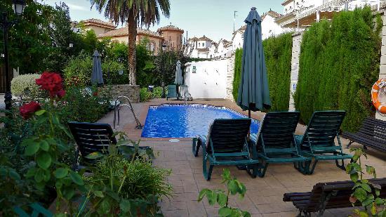 Caseria de Comares: Pool