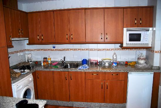Caseria de Comares: Kitchen