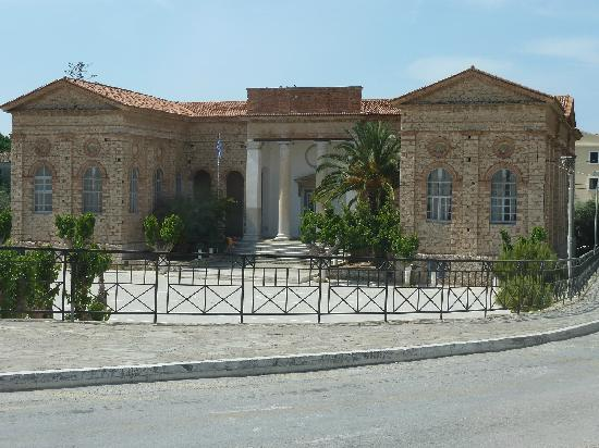 Northeast Aegean Islands, Greece: Porfiriada Neoclassical Grammar School Karlovasi Samos