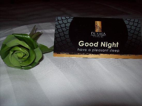 De Naga Hotel : goodnight card