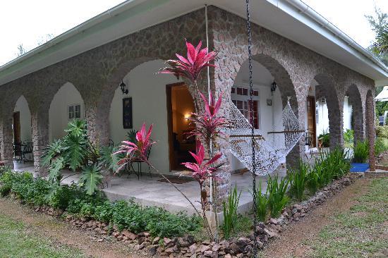 Villa Gaiarda: esterno di una camera