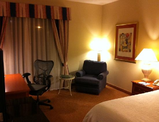 Hilton Garden Inn Syracuse: Desk Area