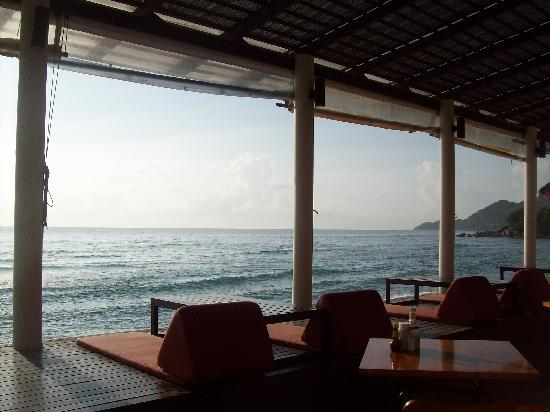 Baan Talay Resort: breathtaking view from restaurant
