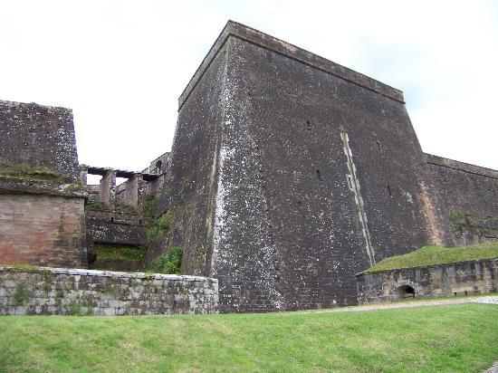 Citadel of Bitche : Seitenansicht