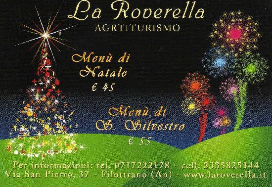 Agriturismo La Roverella: Natale e San Silvestro