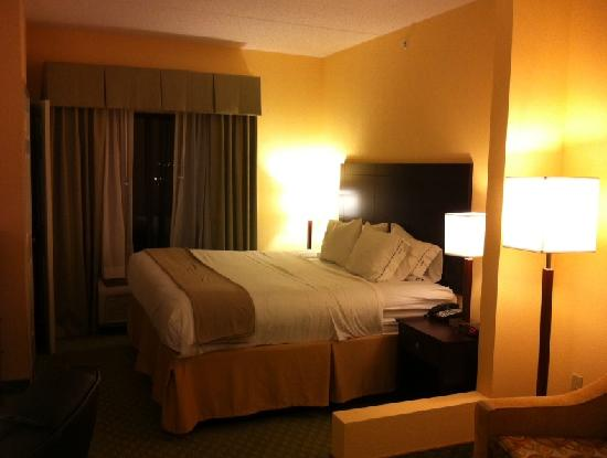 Holiday Inn Express & Suites - Harrisburg West: Bed