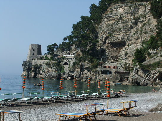 Hotel Pupetto: view from our beach