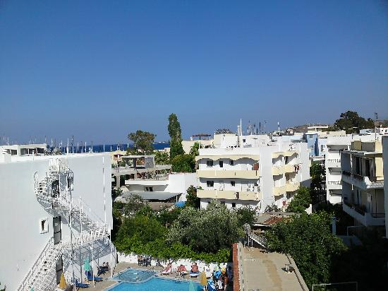 Hotel Yiorgos: The view from my room's balcony
