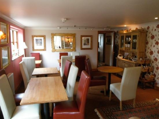 Swaffham, UK: the restaurant