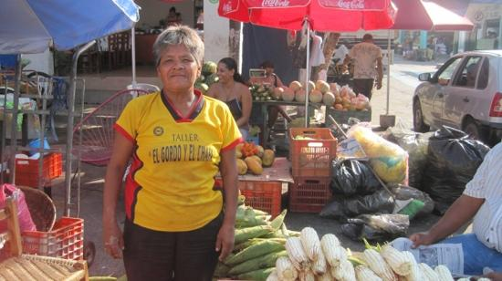 Patio Mexica: one of the vendors at the market
