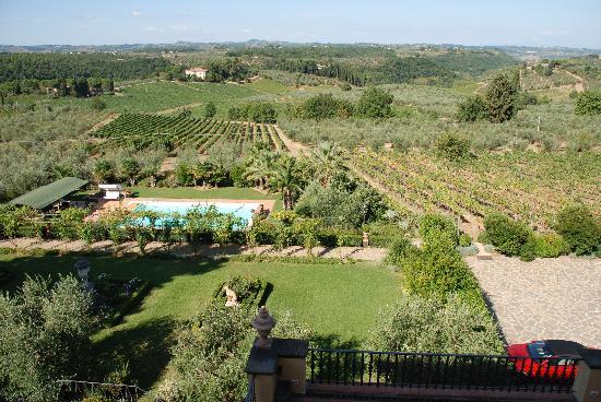 """Villa Marcellini: """"Breakfast"""" view"""